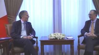 ԱԳ նախարար Զոհրաբ Մնացականյանը հանդիպեց Իտալիայի արտաքին գործերի և միջազգային համագործակցության նախարար Էնցո Միլանեզիին