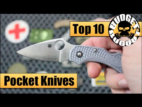 Top 10 Favorite EDC Knives — Best Pocket Knives for Everyday Carry | EDC Knife Review