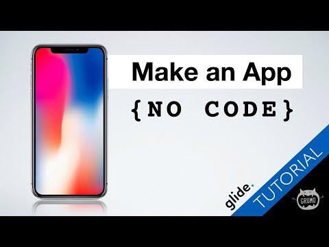How to create a mobile app without coding (Full Tutorial)