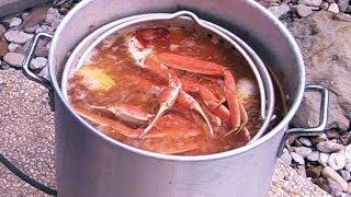 "Cajun Seafood Boil | Snow Crab Legs & Shrimp ""DIY"""