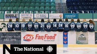 Girlfriends of Humboldt Broncos players united by tragedy