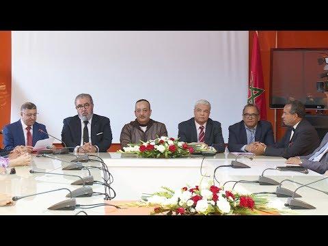 العرب اليوم - شاهد: حفل تنصيب عبد اللطيف بنصفية مديرًا للمعهد العالي للإعلام والاتصال