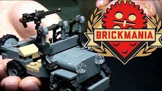 New Brickmania LEGO Spad WWI Airplane and SAS Commando