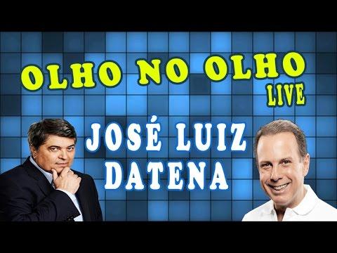 João Doria entrevista o apresentador José Luiz Datena