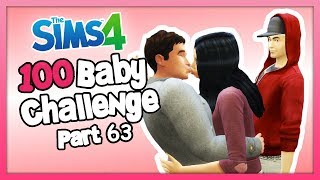 The Sims 4: 100 Baby Challenge with Parenthood - FLIRTING INFRONT OF MY EX-CRUSH! - Part 63
