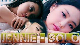 JENNIE   'SOLO' MV With Parody By EJ Peace And Mikayla Channel  (KARAOKE)