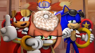 Amy Loses Her Voice | Sonic Animation