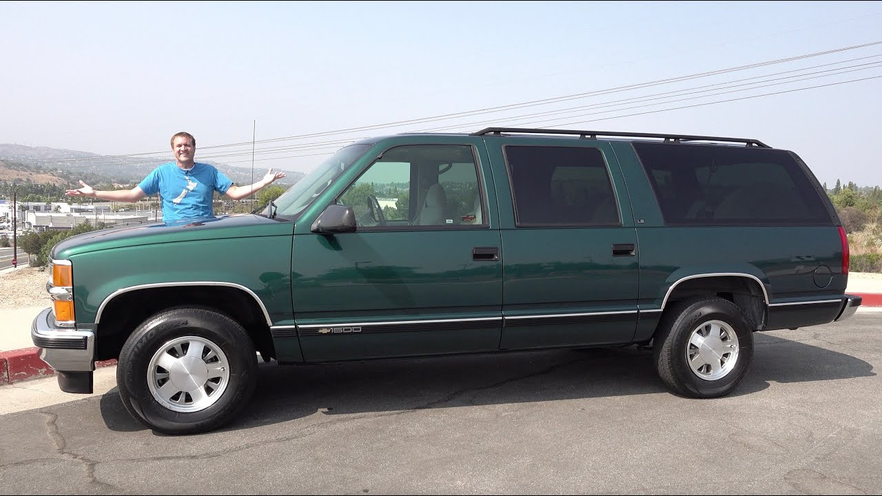 The 1996 Chevy Suburban Was a Family Car Icon of the 1990s