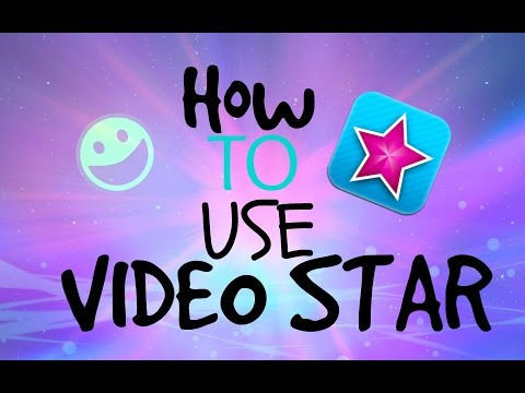 How to use Video Star!