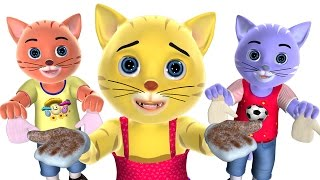 Three Little Kittens Nursery Rhyme | Baby Songs | 3D English Nursery Rhymes for Children