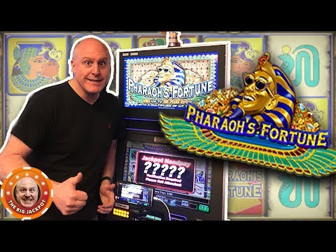 💸AWESOME JACKPOT! 💸Raja DRAINS Pharaoh's Fortune! 🎰| The Big Jackpot