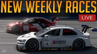 Gran Turismo Sport: New Week, New Races | Gr.3 on an Oval!!