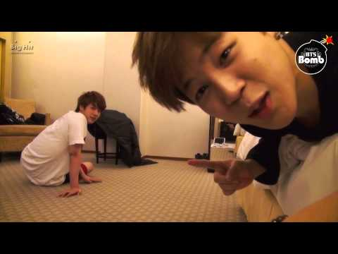 [BANGTAN BOMB] Jin and Jimin's Push-up time 2