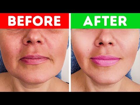 Een Japanse massage van 5 minuten om je gezichtsspieren te versterken