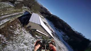 Winter FPV stickcam - How to pilot a freestyle drone ?