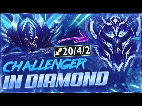 WHEN THE BEST KHA'ZIX IN THE WORLD VISITS DIAMOND ELO (Talking About Twitch Rivals)