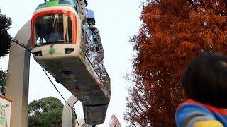 日本初&最短のモノレール上野動物園モノレールに乗ってきました