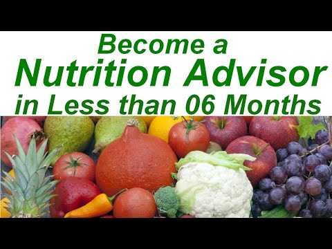 Become a Nutrition Advisor in Less than 6 Months - YouTube
