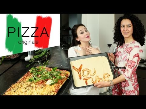 Pizza wie sie am besten schmeckt (original italienischer Pizzateig) by Hatice Schmidt