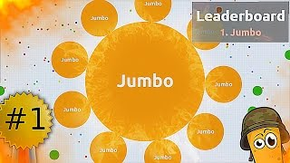 LEGENDARY DESTROYING TEAMS - JUMBO BEST MOMENTS IN AGARIO