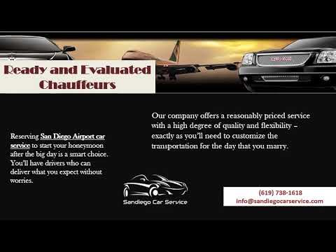 Choose the Best for Your Wedding Transportation in San Diego via Car Services