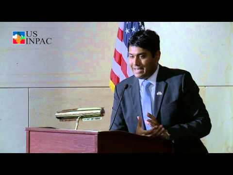 USINPAC Videos  The Road Ahead Event Shash Goyal statement