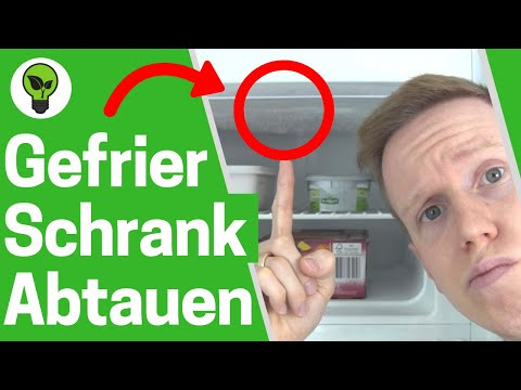 Gefrierschrank Abtauen SCHNELL ✅ ULTIMATIVE ANLEITUNG: Wie Gefriertruhe & Tiefkühlfach Enteisen???