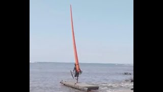 Carrot Foiling: Look, ma, no hands; don't need those pesky kite strings – a new Olympic sailing
