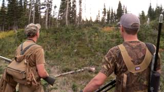 Steven Rinella Gets False-Charged By A Grizzly Bear In British Columbia On MeatEater