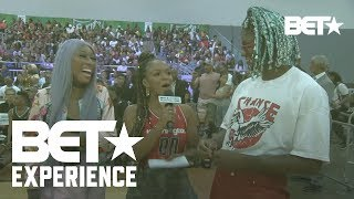 Kway and Lala Slay at BET Celebrity Basketball Presented By Sprite