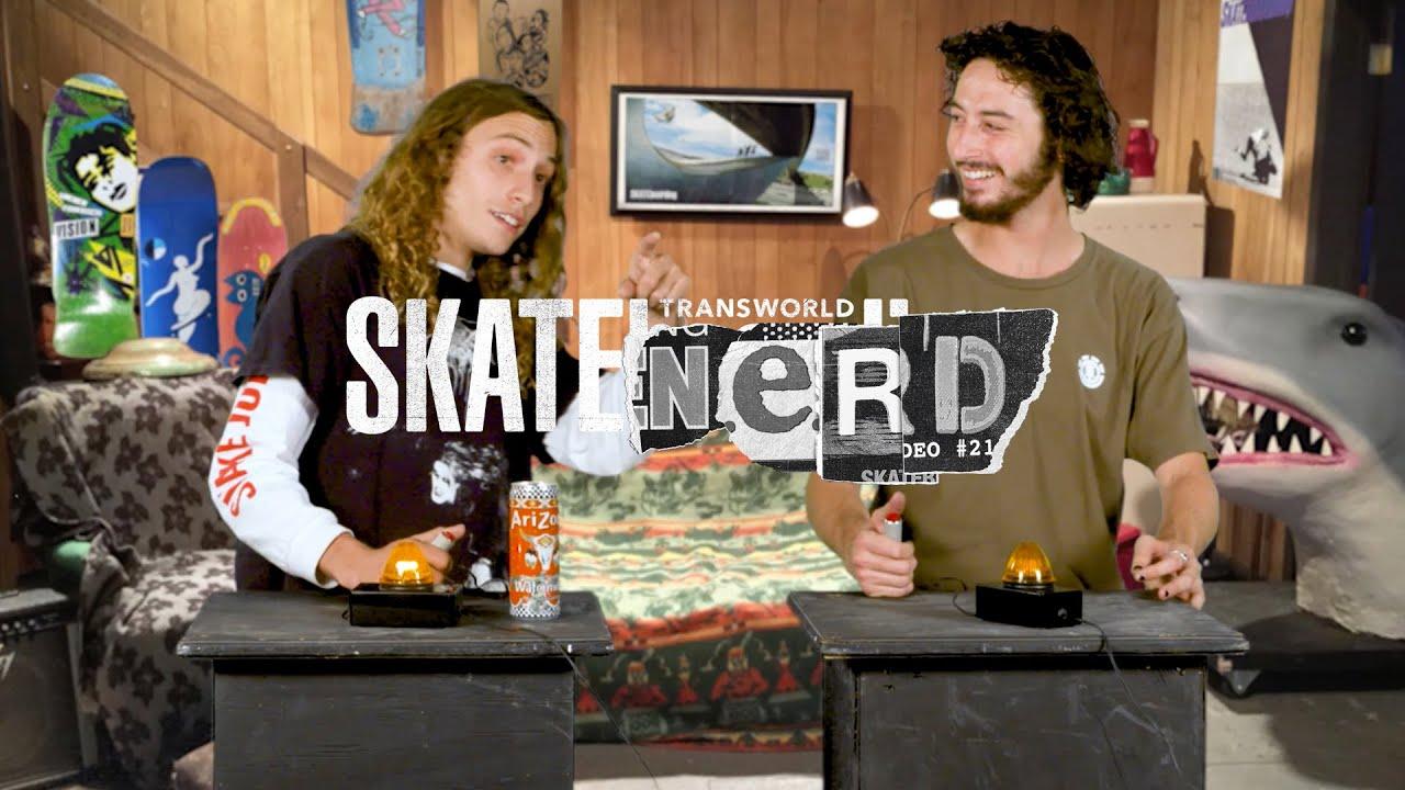 Skate Nerd: Reese Salken Vs. Ethan Loy - TransWorld SKATEboarding