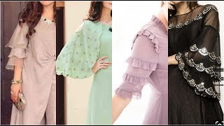 How To Design A Fancy Dress Sleeves//most Demanding Sleeves Designs Ideas For Casual Dresses