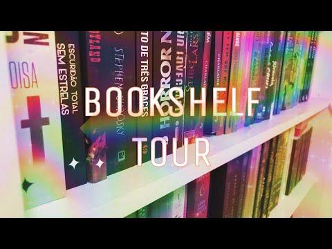 BOOKSHELF TOUR - TODOS OS LIVROS DA MINHA ESTANTE