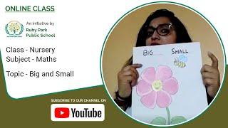 Big and Small Concept | Comparison for Kids | Maths For Nursery Students | Ruby Park Public School Thumbnail
