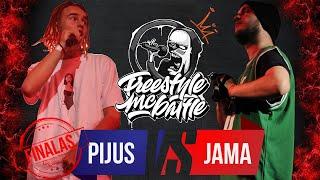 PIJUS VS JAMA | FINALAS | FREESTYLE MC BATTLE 2019