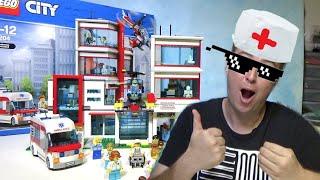 Lego City Госпиталь 60204 City Hospital - Лего городская больница 60204