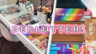 DECLUTTERING MY EVERYDAY MAKEUP DRAWER!! SHOP MY STASH!