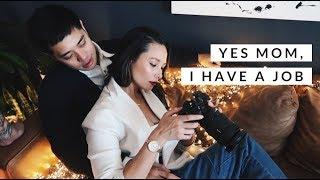 Vlogmas 2018 Day 4   How I Make Money On Social Media   Aja Dang
