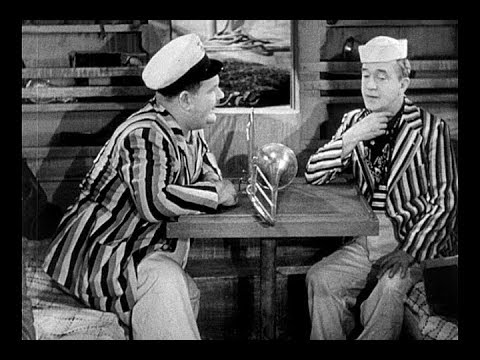 Laurel and Hardy - Saps At Sea Trailer