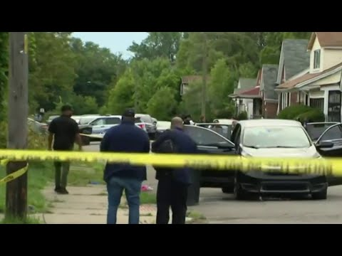 2 women, 8-month-old shot on Detroit's east side