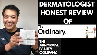 SKIN CARE | Dermatologist review on The Ordinary