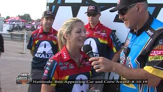 Knoxville Nationals Best Appearing Car and Crew - August 10, 2019