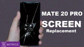 HUAWEI Mate 20 Pro Screen Replacement   Screen repair Guide