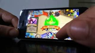 Iphone se hearthstone New gameplay