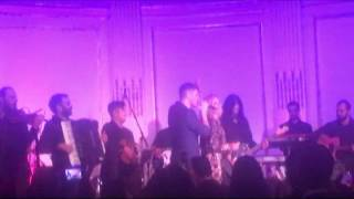 Anna Vissi Άννα Βίσση LIVE Gabby Awards after party near ending NYC 2017 (shortclip)