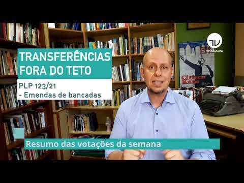 Resumo do Plenário - Veja as votações da semana - 01/10/21