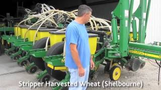 Long-time no-tiller, Mike Arnoldy, shares his experience with no-till planter setup for gumbo soils.