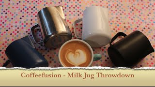 Coffeefusion - Milk Jug Throwdown!