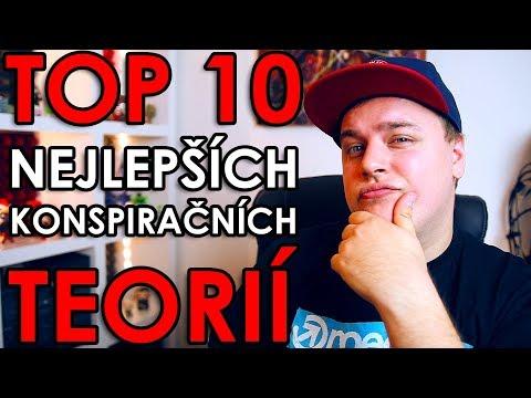 TOP10 NEJLEPŠÍCH KONSPIRAČNÍCH TEORIÍ