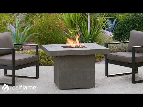 Real Flame - Ventura Square Propane Fire Table